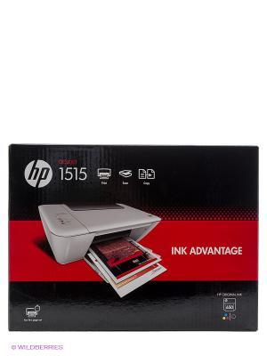 МФУ струйный HP DeskJet Ink Advantage 1515 AiO. Цвет: белый