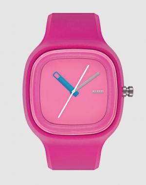 Наручные часы ALESSI. Цвет: фуксия