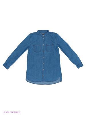 Блузка Tommy Hilfiger. Цвет: синий