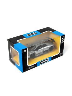 Машина металлическая Lamborghini Murcielago LP 670-4 SV 1:24. HOFFMANN. Цвет: серый