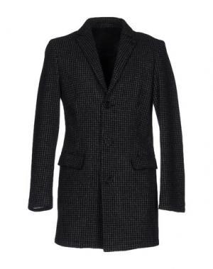 Легкое пальто CINQUE. Цвет: стальной серый