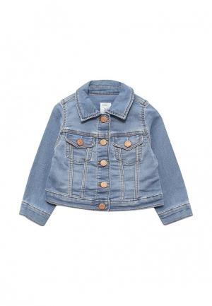 Куртка джинсовая Gap. Цвет: голубой