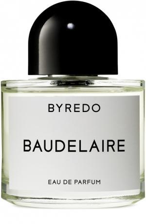 Парфюмерная вода Baudelaire Byredo. Цвет: бесцветный