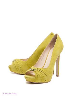 Туфли Calipso. Цвет: салатовый