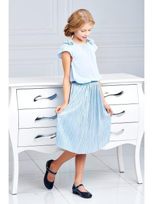 Блузка I love to dream. Цвет: голубой