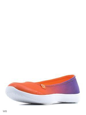 Балетки Kakadu. Цвет: оранжевый