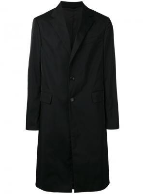 Пальто Senior Raf Simons. Цвет: чёрный