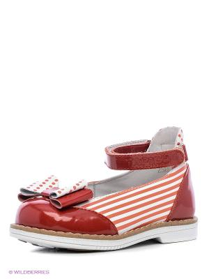 Туфли TAPiBOO. Цвет: красный