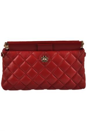 Wallet MATILDA ITALY. Цвет: red