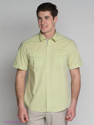 Рубашка Finn Flare. Цвет: светло-зеленый