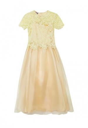 Платье Shened. Цвет: желтый