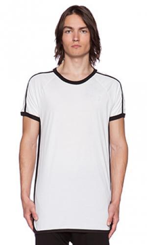 Простая футболка ace Drifter. Цвет: белый