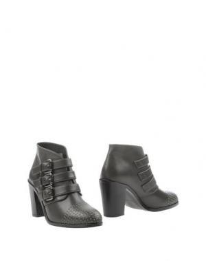 Полусапоги и высокие ботинки SI by SINELA. Цвет: свинцово-серый