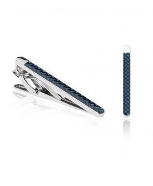 Зажим для галстука  TC-0098 NAVY HENDERSON. Цвет: синий