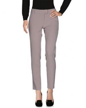 Повседневные брюки ATOS LOMBARDINI. Цвет: светло-серый