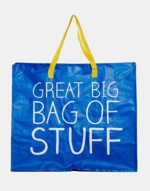 Happy Jackson Сумка Great Big Bag of Stuff. Цвет: синий