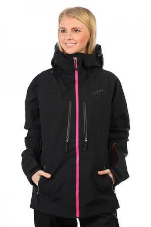Куртка утепленная женская  Gear Stella Black Trew. Цвет: черный,розовый
