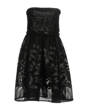 Короткое платье NORA BARTH. Цвет: черный