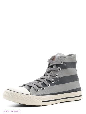 Кеды EcoTex Zebra. Цвет: серый