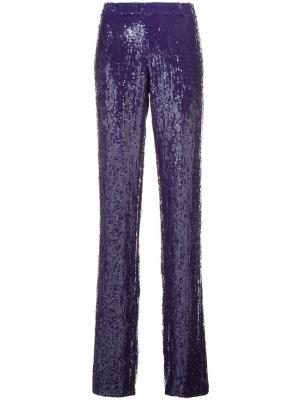 Sequinned trousers Jeffrey Dodd. Цвет: розовый и фиолетовый