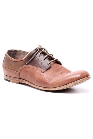 Туфли AREA FORTE. Цвет: коричневый