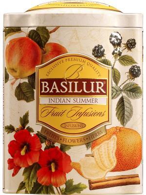 Чай Basilur ФРУКТОВОЕ ВДОХНОВЕНИЕ Индийское Лето. Цвет: бежевый, черный