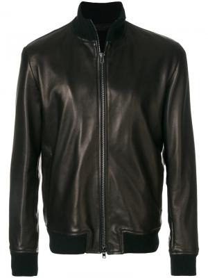 Куртка-бомбер Salvatore Santoro. Цвет: коричневый