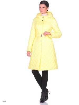 Пальто Престиж-Р. Цвет: желтый