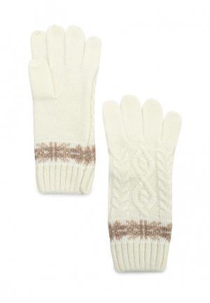 Перчатки Sela. Цвет: белый