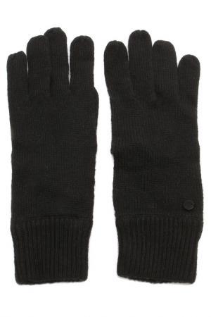 Перчатки Marc OPolo O'Polo. Цвет: чёрный
