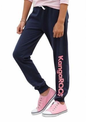 Спортивные брюки Kangaroos. Цвет: темно-синий
