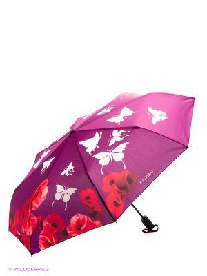 Зонт Flioraj. Цвет: лиловый