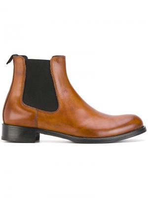 Ботинки-челси Pollini. Цвет: коричневый
