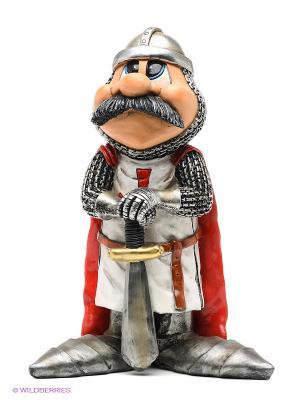 Фигурка Рыцарь Сэр Чарльз The Comical World of Stratford. Цвет: красный, серебристый, светло-серый, серый, черный