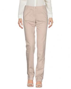 Повседневные брюки KEN BARRELL. Цвет: светло-серый