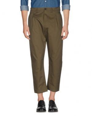 Повседневные брюки CHOICE NICOLA PELINGA. Цвет: зеленый-милитари