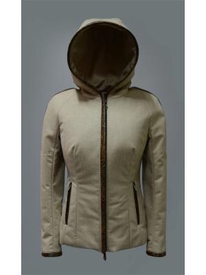 Куртка Bos Bison. Цвет: белый