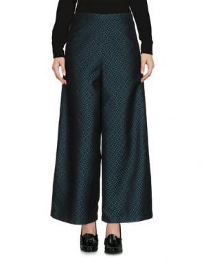 Повседневные брюки CORINNA CAON. Цвет: цвет морской волны