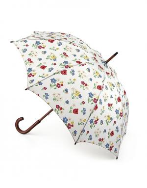 Зонт-трость Цветы  by Fulton Cath Kidston. Цвет: белый