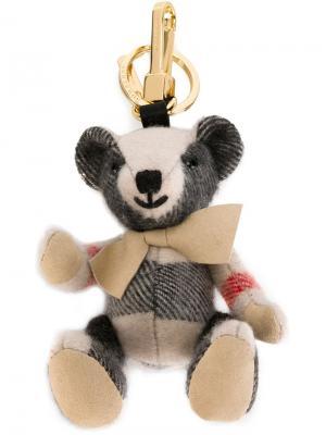 Брелок с подвеской-медведем Thomas Burberry. Цвет: телесный