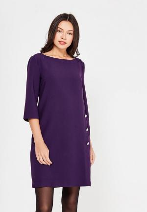Платье Affari. Цвет: фиолетовый