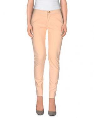 Повседневные брюки ANIYE BY. Цвет: абрикосовый