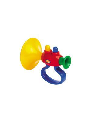 Музыкальный инструмент Труба Tolo. Цвет: желтый