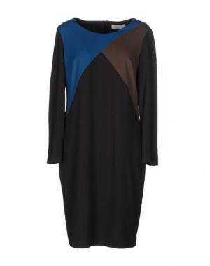 Короткое платье CALALUNA. Цвет: свинцово-серый