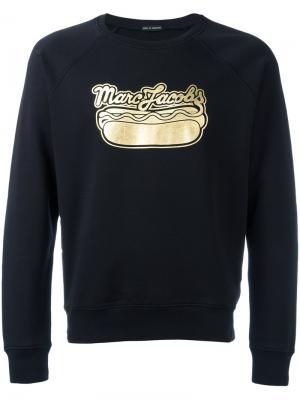 Толстовка с принтом логотипа Marc Jacobs. Цвет: чёрный