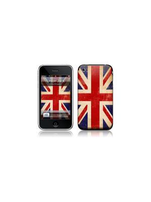 Наклейка Union Jack for 3G/3GS Kawaii Factory. Цвет: красный, синий