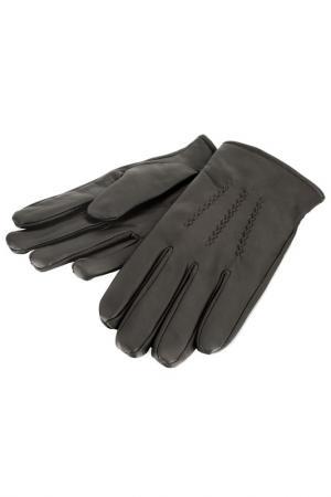 Перчатки WOODLAND LEATHER. Цвет: коричневый