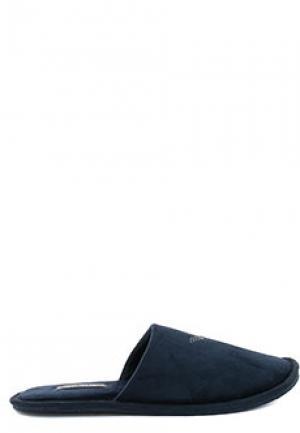 Тапочки EA7. Цвет: синий
