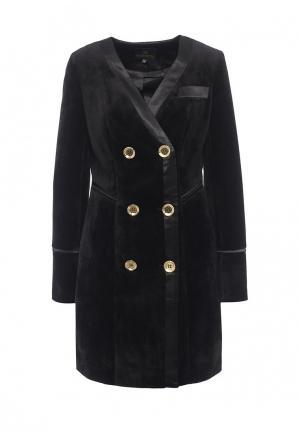 Пальто Grand Style. Цвет: черный