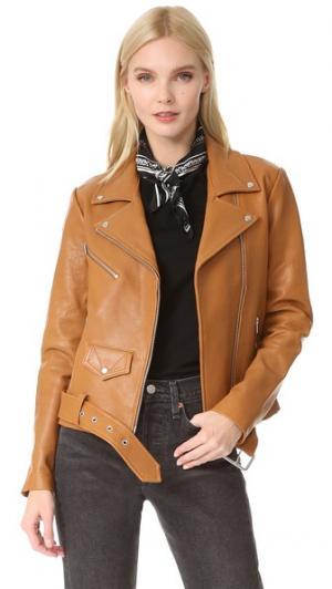Классическая куртка Jayne VEDA. Цвет: золотистая соломка